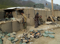 14 killed in Afghan military base attack