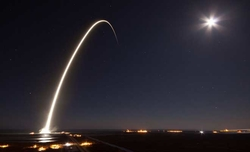 SpaceX successfully launches communication satellite