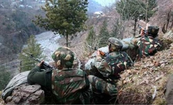 Indian, Pakistani Army trade fire on LoC