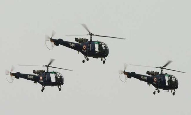 India issues RFI for naval helicopters