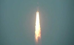 India's heaviest rocket lifts off with communication satellite GSAT-29