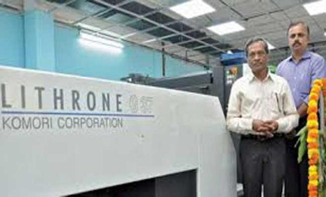 Japan-based Komori Corporation opens India subsidiary