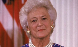 Ex-US First Lady Barbara Bush dead
