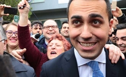 Centre-right government impossible, says Italy's Five-Star party leader