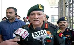 Governor's rule not to affect anti-terror operations: Army chief