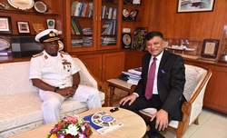 CHIEF OF THE NAVAL STAFF OF NIGERIAN NAVY VISITS GSL