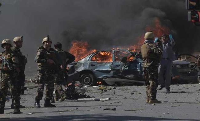 Police chief killed in Afghan bomb attack