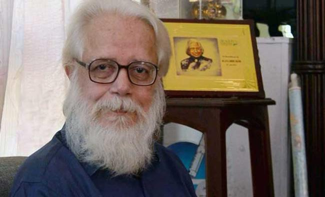SC awards ex-ISRO man Nambi Narayanan Rs 50 lakh compensation