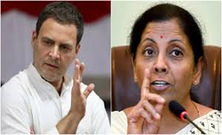 NCW seeks explanation from Rahul over remarks on Sitharaman