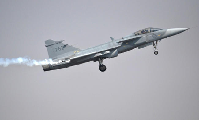 Saab offers Gripen technology transfer to Indian partner