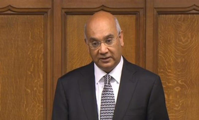 Indian-origin Labour MP Keith Vaz announces retirement after 32 years
