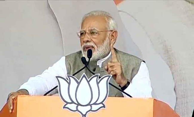 Cong, allies used Maoists for politics: Modi in Jharkhand