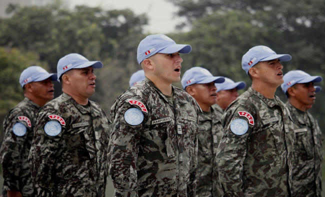 UN members discuss peacekeepers' safety