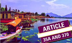 'No change in Article 370 and 35A following cabinet decisions on J&K'