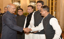 Strong Bangladesh in India's interest: Kovind