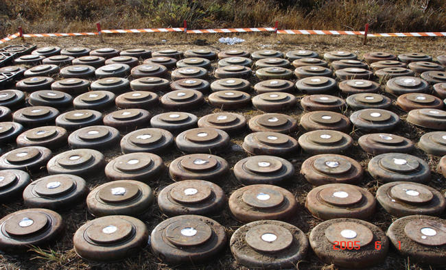 Landmines a scourge, a sad leftover of war