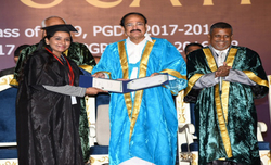 Indian educational institutions should maintain high standards: VP Naidu