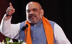 Shah holds meeting on internal security, Maoist issues