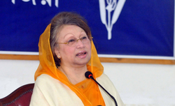 Khaleda gets six-month bail in defamation cases