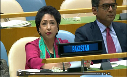 Pak envoy meets UNGA President, discusses Kashmir