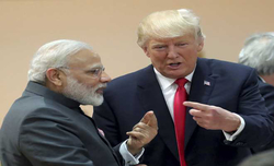 Trump inflames new controversy by asserting Modi was 'very aggressive'
