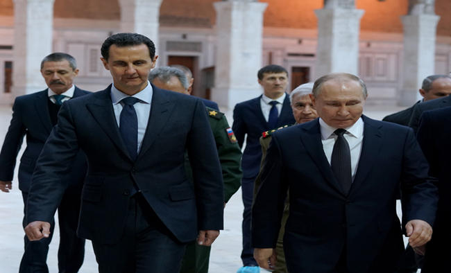 Syrian Prez discusses refugee conference with Russian delegation