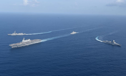 Indian Navy exercises with Russia, 'Quad' countries