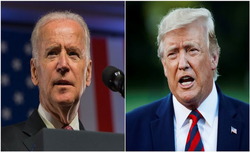 Trump, Biden hold separate town halls in place of direct debate