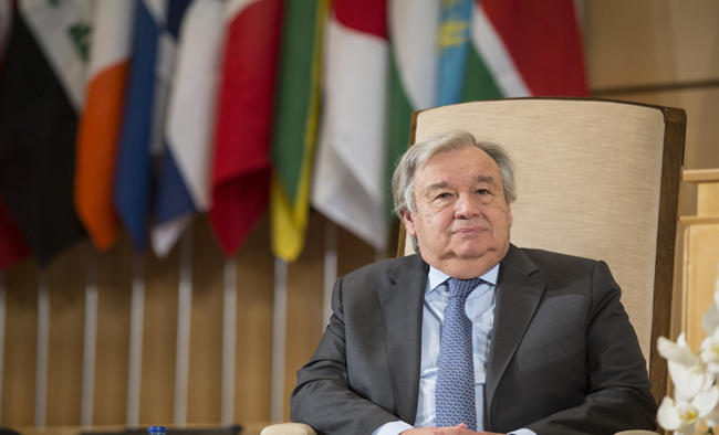 UN chief calls for stronger ties with SCO to fight climate crisis