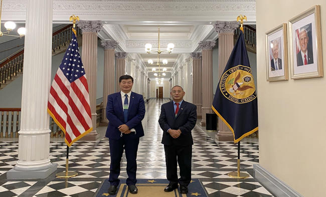 First time in six decades, Sangay invited to White House