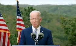 Biden wipes away tears during town hall with frontline workers
