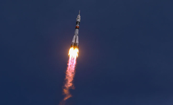 Launch of Soyuz rocket rescheduled due to bad weather
