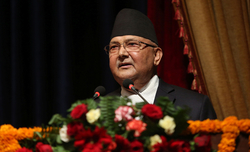 Nepal's Oli organises separate gathering as NCP on verge of collapse