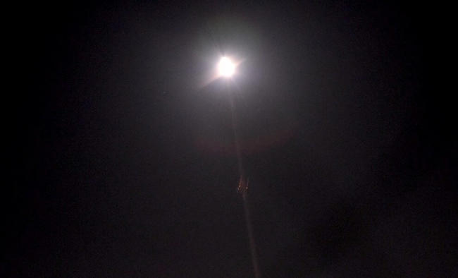 Syrian air defences intercept Israeli missiles