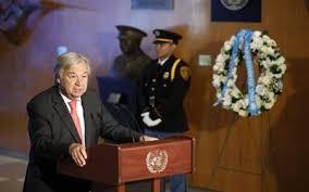 Guterres calls for stopping capital punishment