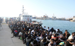 Over 5,000 illegal immigrants rescued off Libyan coast in 2020