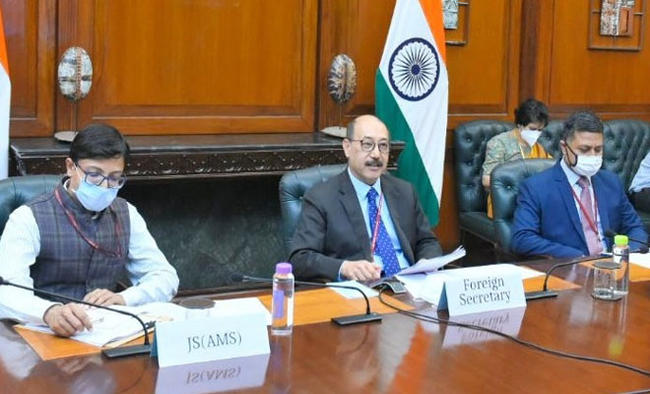 US says 'ongoing threats' came up in consultations, but India silent on it