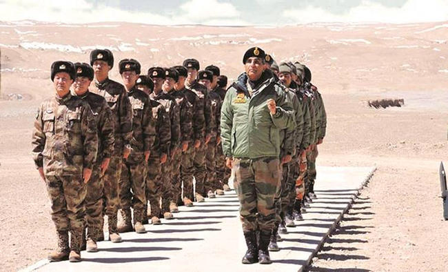 India, China militaries continue talks to ease heightened border tensions