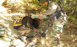 Army busts multiple hideouts along LoC