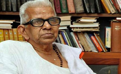 Renowned Malayalam poet Akkitham Achuthan wins Jnanpith award