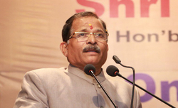 Union MoS Defence Shripad Naik discharged a month after road accident