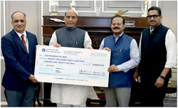 GSL pays an interim dividend of Rs. 22.30 Crore to Govt.