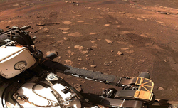 NASA's Perseverance rover performs first drive on Mars