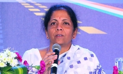 Sitharaman's statement intensifies steel plant protests in Vizag