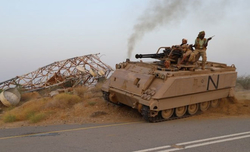 Saudi-led coalition launches 15 airstrikes on Houthis