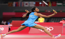Olympics: PV Sindhu storms into women's singles quarterfinals