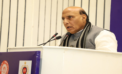 Genomics to play key role in fighting Covid: Rajnath Singh