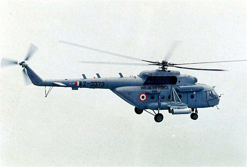 IAF to induct armed Mi-17 squadron in Rajasthan