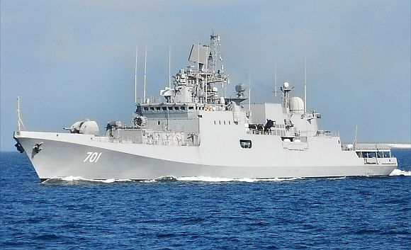INS Teg warship inducted into Indian Navy