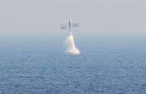 Brahmos cruise missile successfully launched from underwater